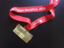 Medaille Hamburg Marathon